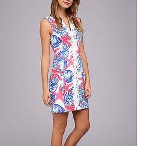 She the shell Lilly Pulitzer Janice shift dress
